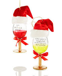 wine spirits ornament collection created by macy s