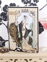 1000 ideer om art deco cards på pinterest art deco