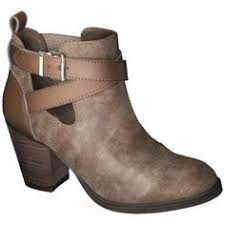 womens boots target canada image 1 of high heel leather ankle boot with zips from zara