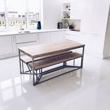 Kitchen Table With Wheels by Dining Tables Industrial Dining Table Diy Industrial Round