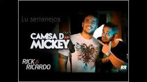 rick ricardo rick u0026 ricardo camisa do mickey youtube