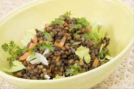 cuisiner le celeri recette de salade de lentilles au cleri facile et rapide cuisiner