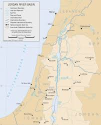 Dead Sea Map Portfolio The Jordan Franck Vogel