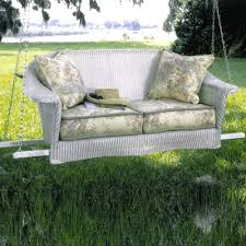 collection in wicker patio swing patio design images lloyd