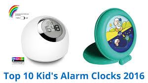 best light alarm clock 10 best kid s alarm clocks 2016 youtube