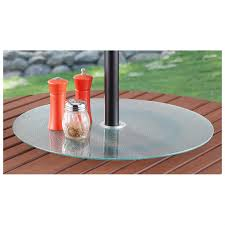 Glass Lazy Susan Turntable by Glass Lazy Susan For Patio Table Table Designs