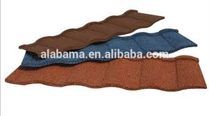 Roof Tiles Types 15 Optional Colors Stone Coated Metal Roof Tile Decramastic Roof