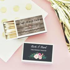 wedding matchboxes personalized wedding match boxes garden theme wedding out door