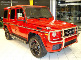 mercedes benz jeep 2016 2016 mercedes benz g class g63 4matic suv in special order mars red