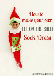 on the shelf clothes on the shelf dress made from a sock uncommon designs