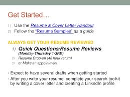 Get Your Resume Reviewed Resume Writing Bryant University