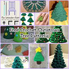 free crochet christmas tree patterns the lavender chair my