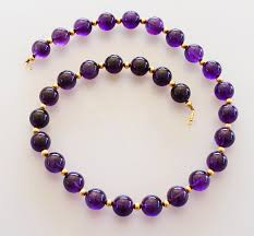 amethyst necklace beads images Miracle amethyst bead necklace best necklace jpg