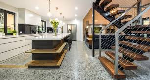 Polished Concrete Floors Brisbane  Gold Coast OzGrind - Concrete home floors