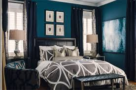 how to achieve a tailored bedroom with a masculine feel