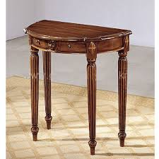 small half moon console table with drawer small console table palquest