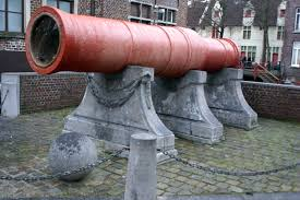 siege canon toreken tanners guild house and mons meg cannon ghent