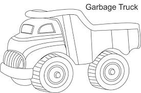 garbage truck pictures color free download