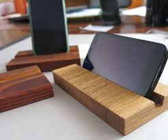 diy wood charging station wooden phone dock