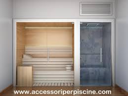 sauna in bagno la tua area wellness con una bellissima sauna e bagno turco