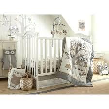 Grey Mini Crib Mini Crib Comforter Set