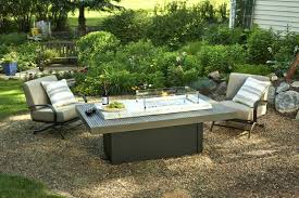 outdoor coffee table with propane fire pit patio table with