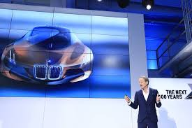 bmw future car bmw unveils prototype of car of future wsj