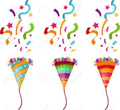 party confetti popper party royalty free cliparts vectors and stock