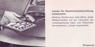 vintage vw light bulbs vw beetle bug bus karmann type 3 classiccult