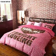 Korean Comforter Victoria Secret Bedroom Sets Pink Victoria S Secret 4 Pieces