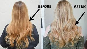 redken strawberry blonde hair color formulas how to neutralize brassy hair to a gorgeous blonde youtube