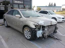 2007 toyota parts 2007 toyota camry parts cars trucks gold front end damage