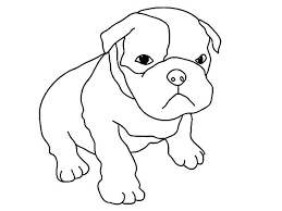 baby dog coloring pages funycoloring