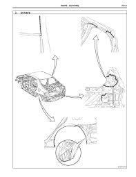 How To Reset Maintenance Light On 2010 Toyota Corolla 2009 2010 Toyota Corolla Body Repair Manual