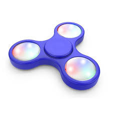 fidget spinner light up blue altatac rakuten multi mode light up led fidget spinner edc finger