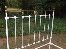 Antique Cast Iron Bed Frame New Stunning Cast Iron Bed Frame Antique 4 23035