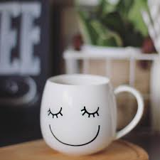 happy smile mug oh everything handmade