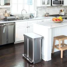 kitchen bin ideas stainless steel rectangular recycling kitchen bin ideas soloway