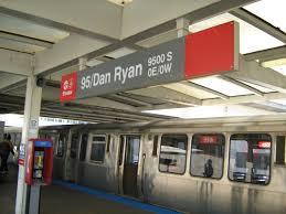 Cta Red Line Map 95th Dan Ryan Station Wikipedia