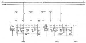 acura integra 1992 u2013 1993 u2013 wiring diagrams u2013 seat belt