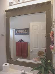 bathroom mirror frames for bathroom inspirational home