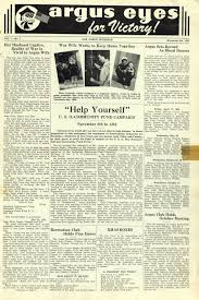 Halloween Usa Ann Arbor Argus Eyes November 06 1942 Ann Arbor District Library