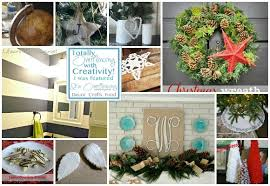 Christmas Home Decor Crafts Diy Christmas Home Decor Its Overflowing Simply Inspired