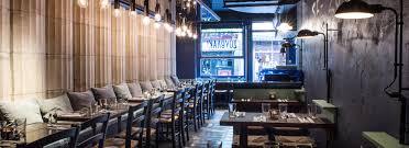 blue restaurant design luxury hospitality restaurant interior