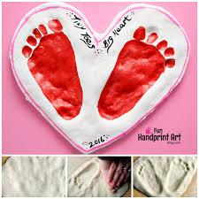 sweet s day salt dough keepsake handprint