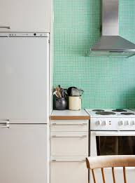 green kitchen mint green kitchen tiles coco lapine