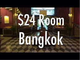 my 24 a night budget hotel room in bangkok thailand the
