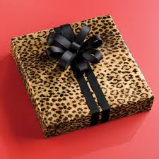 cheetah print tissue paper leopard print wrapping paper the container store