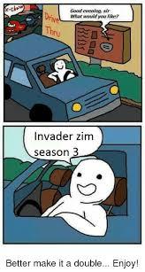 Zim Meme - current relationship status nickelodeon zim 2i lagilicious meme