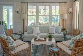 cottage livingroom blue cottage living room with wainscoting cottage living room